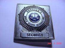 ARMED SECURITY BADGE