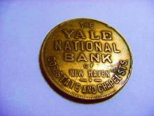YALE NATIONAL BANK OF NEW HAVEN TOKEN