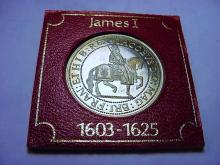 KING JAMES MEDAL