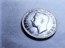 1951 CANADA 25 CENTS B.U.