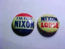 [2] NIXON CAMPAIGN BUTTONS