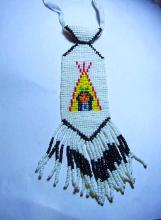 INDIAN BEADED NECKLACE
