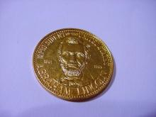 ABRAHAM LINCOLN BRONZE PROOF MEDAL