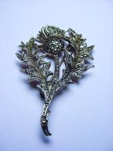 VINTAGE THISTLE PIN
