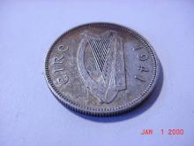 1941 IRELAND SHILLING