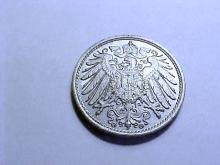 1914 G GERMANY 10 PFENNING