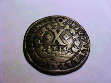 1736 PORTUGAL 10 REIS