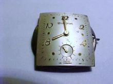 BULOVA WATCH MOVEMENT WORKS