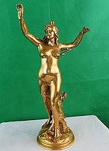 Art Nouveau Bronze by Raoul Larche, C.1900, 12