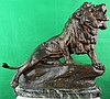 Bronze Lion  by Charles Masson, French C.1900