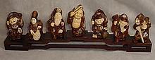 Ivory & Boxwood Set of 7 Inmortals H: 5