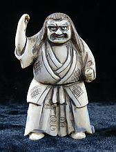 Okimono  Ivory Netsuke H-1.7