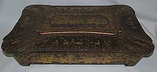 Wood Chinoiserie Secretaire 1890