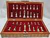 Silver .925  Chess Set . 3,285 grs. (106 oz. ) total