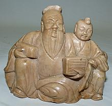 Softstone Chinese Sculpture   3