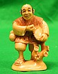Old Ivory Netsuke Man