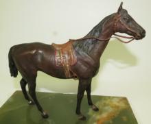 Vienna Bronze Horse Austria 1900 H: 7