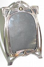 Art Nouveau Portrait Frame w/glass  9