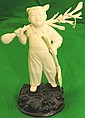 Ivory Carving Girl  ,Cultural Revolution Period
