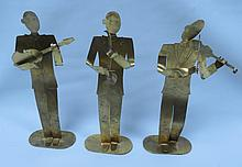 Hagenauer lot of 3 Musicians