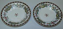 Pair of Royal Worcester China Plates 1862-67
