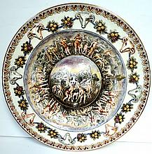 Capodimonte Plate Excellent Italy 1900 D: 13