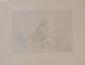 DADO (1933-2010)   Scène de genre - 1967  Gravure en noir sur papier.   Signé et daté en bas à droite. Numéroté 51/60 en bas à gauche.  34 x 44 cm