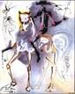 Salvador DALI (1904-1989)  Le picador, les chevaux daliniens  Céramique d'après une aeuvre originale peinte par l'artiste en 1971  Signé en haut à gauche. Tirage limité à 490 exemplaires numérotés de numérotés de I/XD à XD/XD  25 x 20 cm