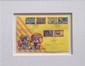 Romero BRITTO (1963)   L'éducation : clé de voûte XXIe siècle - 1999  Enveloppe timbrée. Signée et numérotée 24/1000 en bas à droite  18 x 26 cm