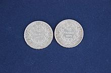 2 pièces 20 Francs Or Louis Nap. Bonaparte 1852