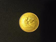 1 pièce 20 Francs Or - Napoléon III - Tête nue 1855