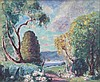 Emmanuel DE LA VILLEON (1861-1939)  Paysage de Printemps, Emmanuel de la Villeon, Click for value