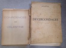 Lot comprenant 2 ouvrages: