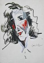 MANOLO (1872-1945)  Portrait de femme