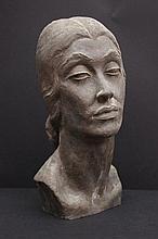 Yves REVELLI (1898-1971)  Portrait de femme - années 1930