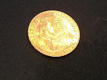 1 Pièce de 20 Francs en or  - France - République, Coq