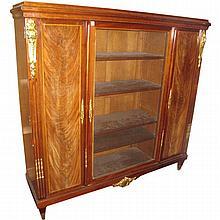 Louis XVI bookcase cabinet. H:65