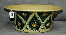 Large Majolica bowl. H:6.5