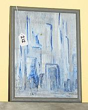 Framed oil on board by Joan Merrell Loader