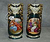 Pair Austrian porcelain vases. H:11. 5