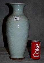 Chinese export celedon vase