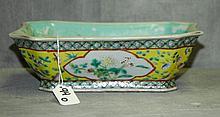 19th C Chinese porcelain jardinière.
