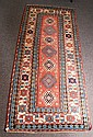 Antique Kazak long rug. 4'5 X 10'3