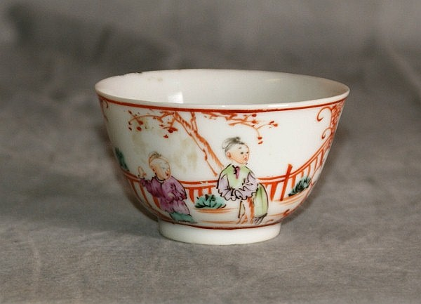 19th C Chinese export tea cup