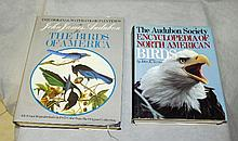 Two large books from Audubom society encyclopedia.