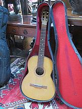 CASED ACOUSTIC GUITAR X2