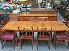 CONTINENTAL STYLE DINING SUITE COMPRISING OF EXTEN