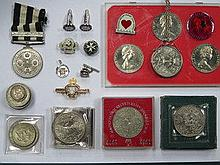 VICTORIAN ST. JOHNS AMBULANCE MEDALS AND CUFFLINKS