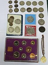 PARCEL OF MIXED SILVER AND OTHER COINAGE