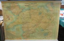 BACON'S NEW SURVEY MAP OF NORTH WALES